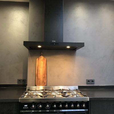 Charcoal keuken fornuis industrieel