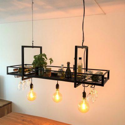 industriële lamp laswerk op maat