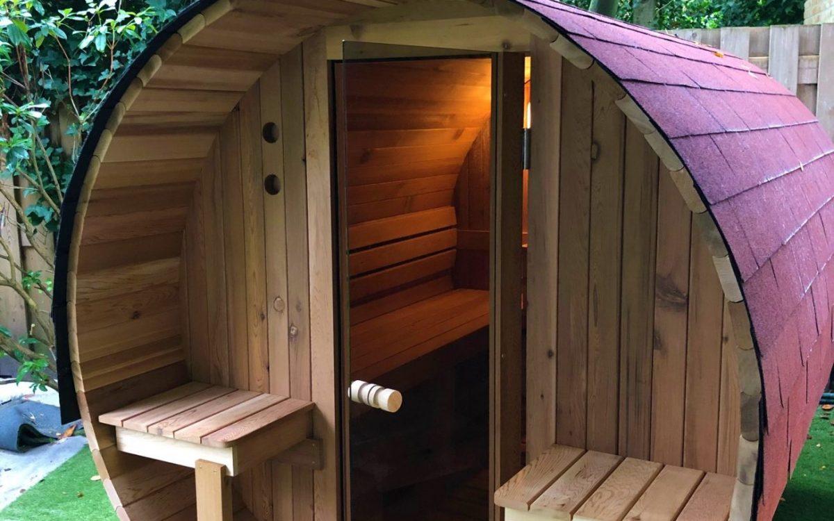 buiten sauna hout en hamer Den Haag