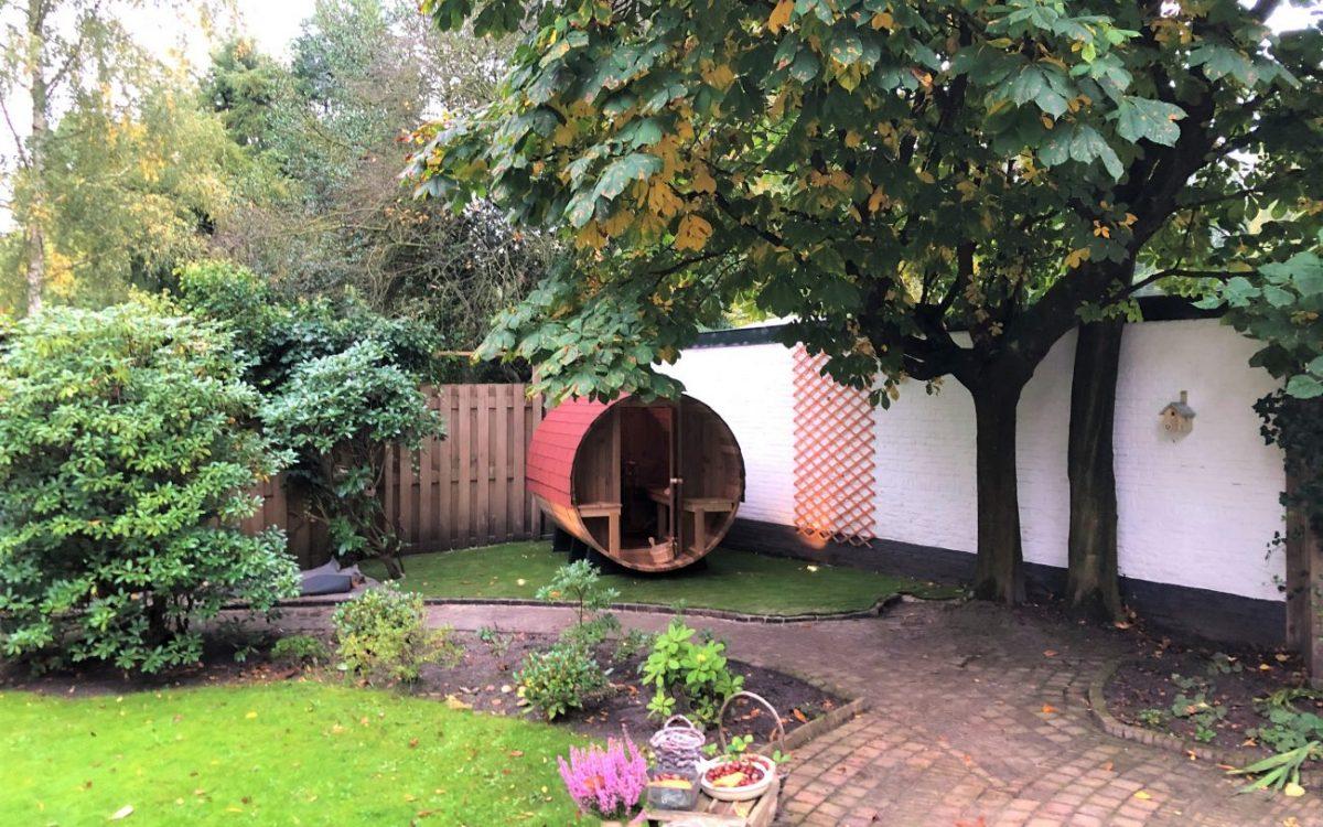 sauna buiten Bilthoven door hout&hamer.nl