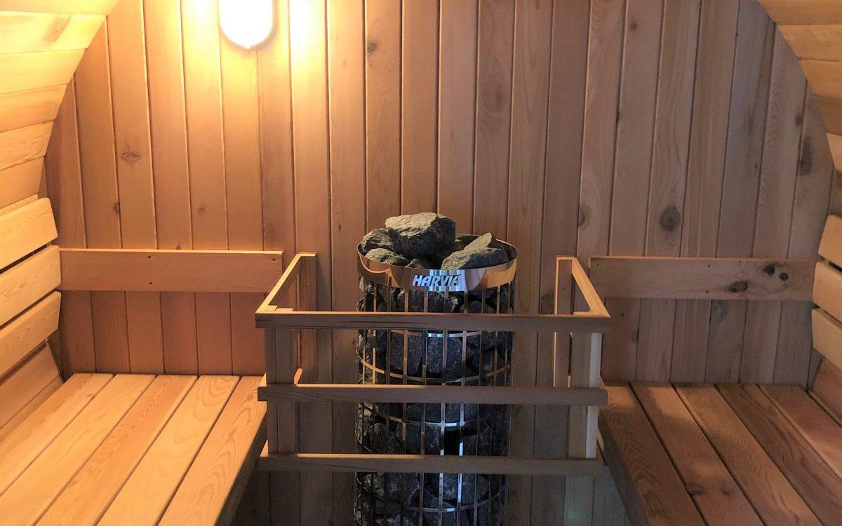 kachel 380 Volt Sauna Hout en Hamer Den Haag