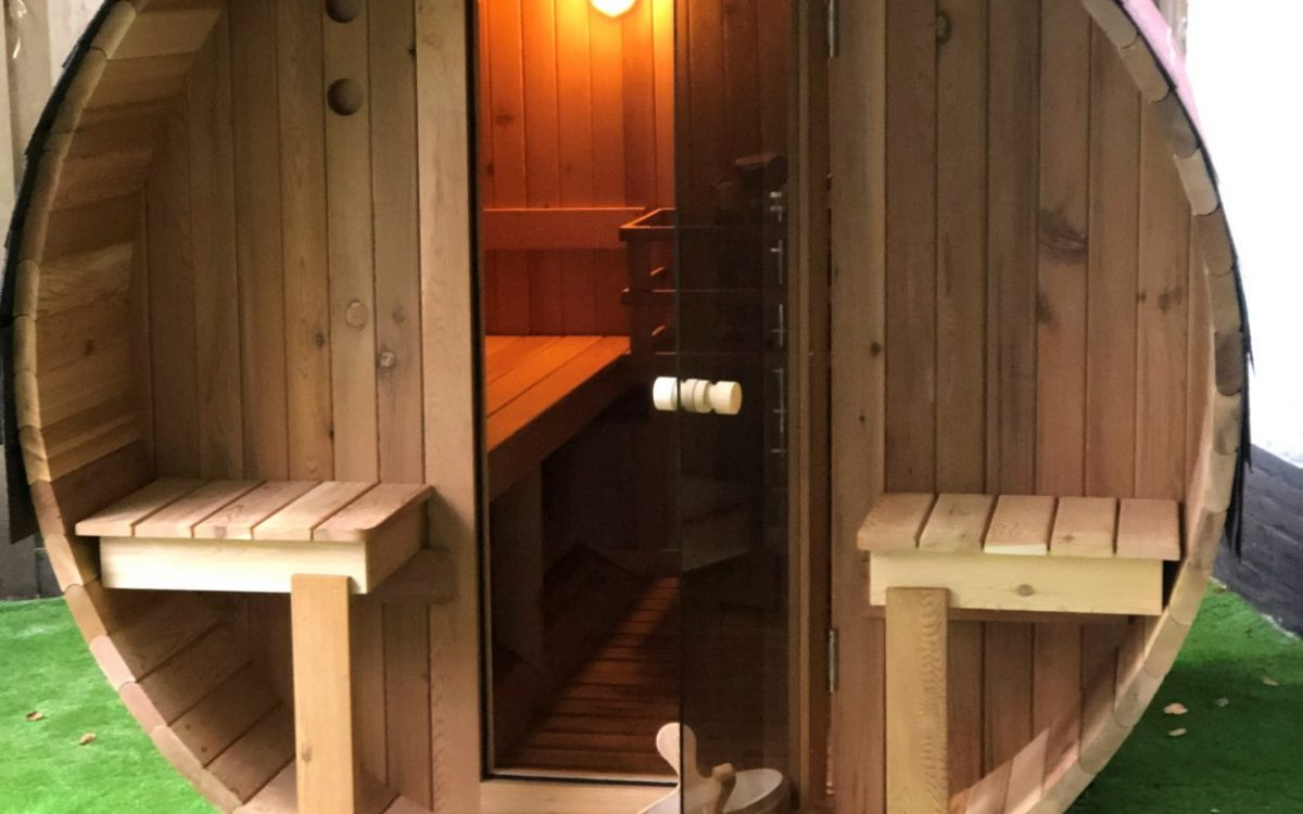 sauna voorzijde